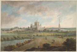 General Claude Martin's house Constantia set in its park at Lucknow